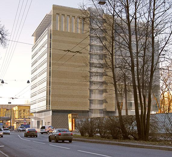 Бизнес-центр на Решетникова