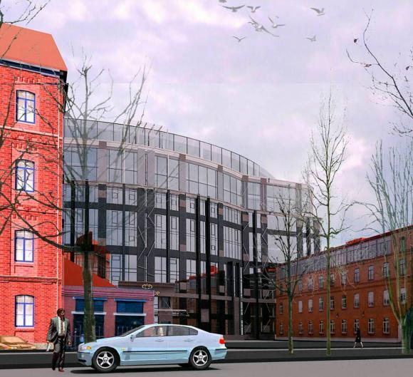 Бизнес-центр на улице проф. Попова