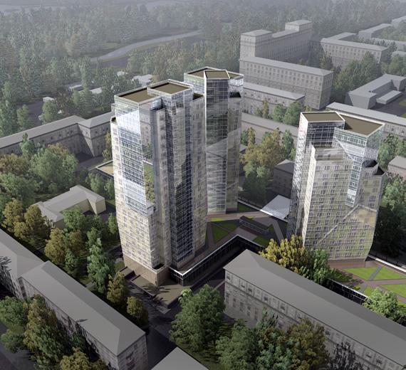 Жилой комплекс на проспекте Ю.Гагарина